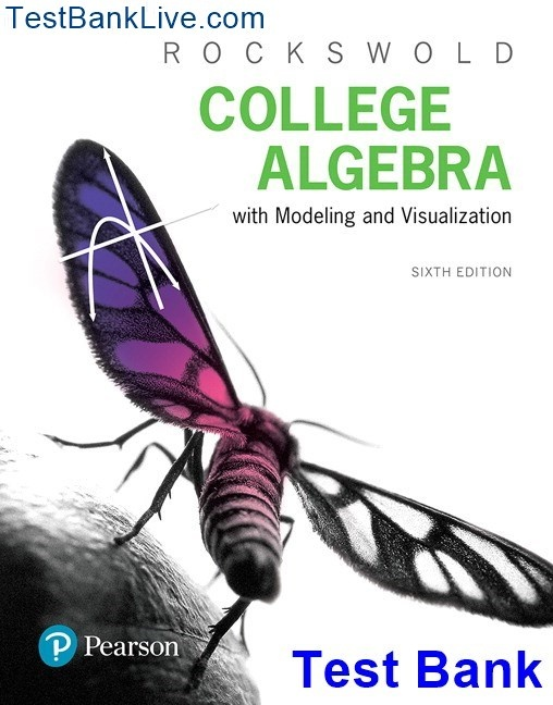 How to download a test bank for College Algebra with