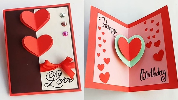 Fantastic Where Can I Get The Ideas For Handmade Cards For Boyfriend Quora Personalised Birthday Cards Paralily Jamesorg