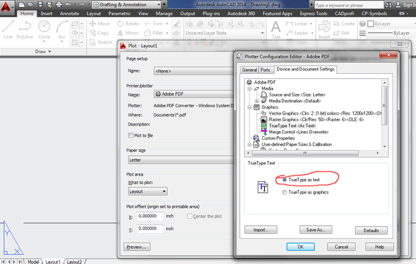 I Just Tried It In Bullzip PDF Driver Free And Adobe Drive The Option Is Available