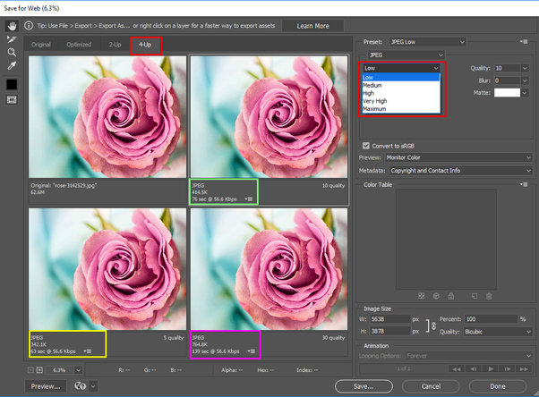 How to reduce the file size of a JPEG - Quora