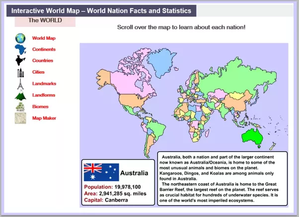 Which Site Can Teach Me The World Map Countries And Capital - Earth map countries and capitals