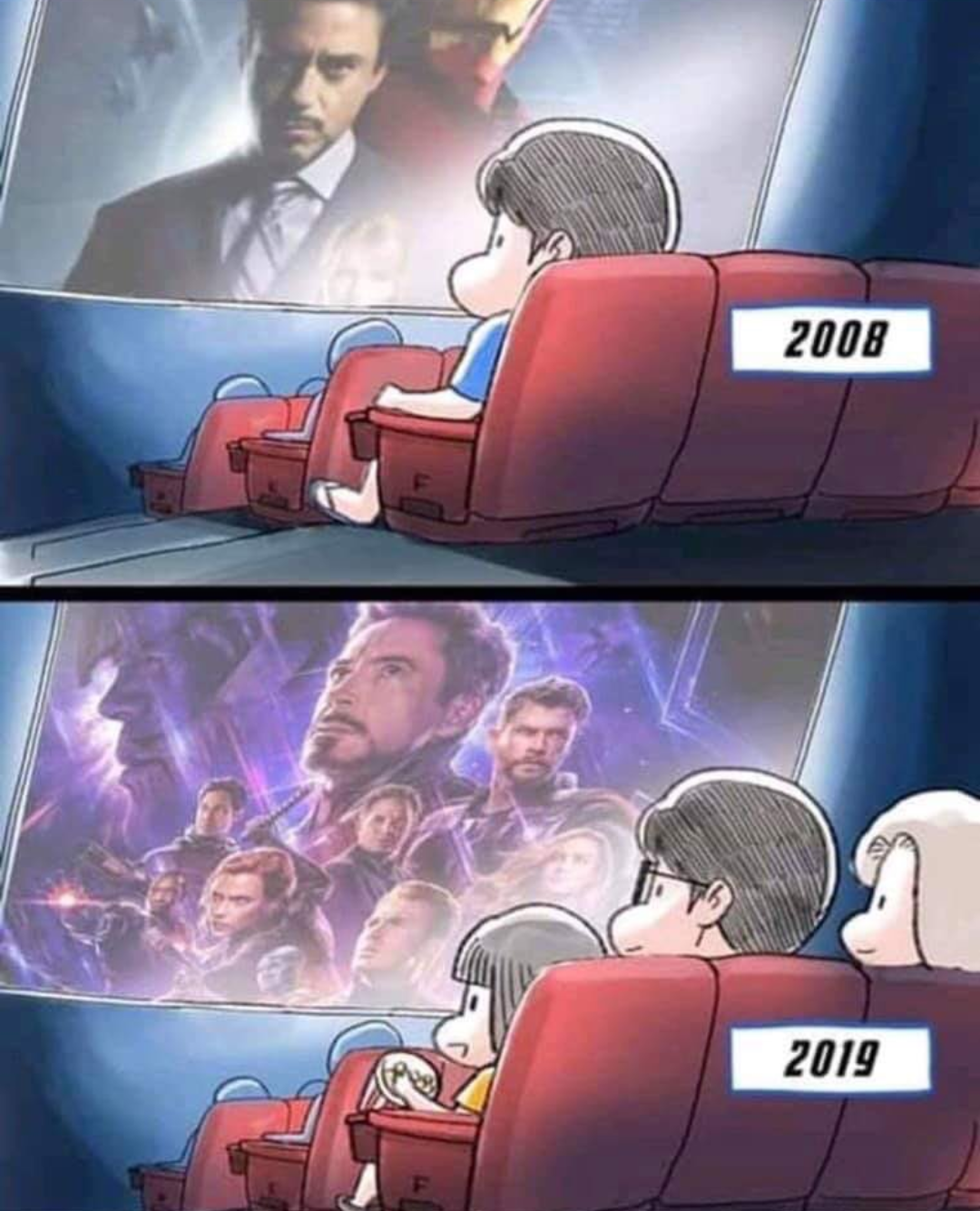 What does Iron Man mean when he says 'I love you 3000' in Endgame