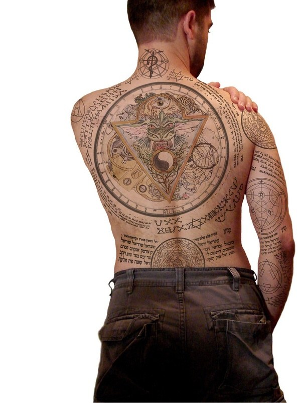 Whats The Meaning Of Constantines Tattoos Quora