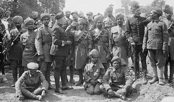 What was the contribution of the Indian Army in World War ...