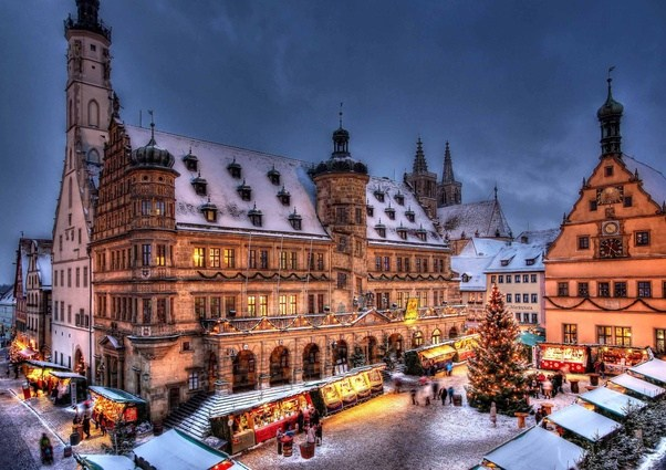 dubbed as the christmas market capital of the world this is the only place that sells christmas products throughout the year or at least has them stocked - Best European Cities For Christmas