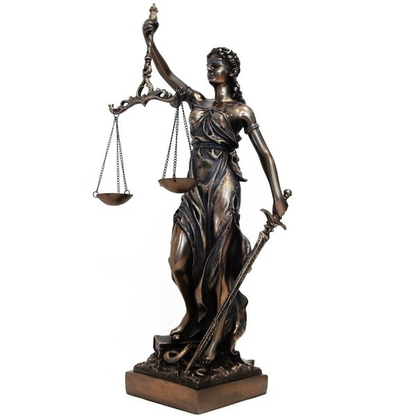 What Is The Meaning Of The Blind Lady Of Justice Statue Quora