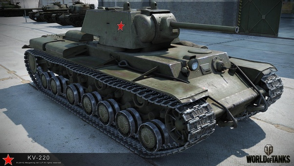 Earned OP - Bogatyr KV-220-2