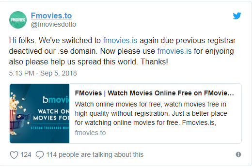 fmovies is not working