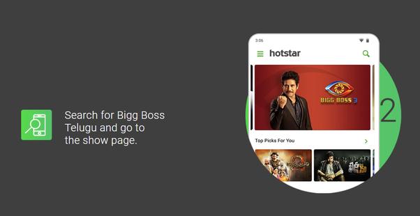 How to vote for Bigg Boss Telugu contestants - Quora