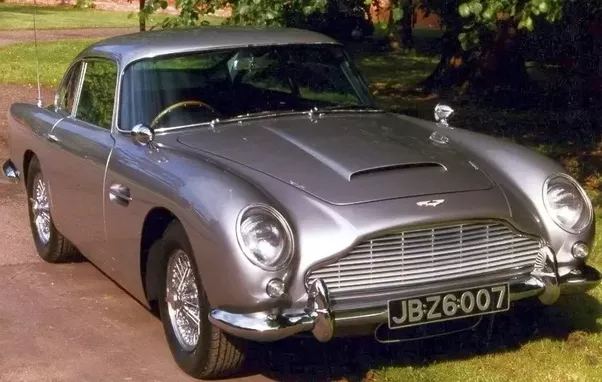 The James Bond Aston Martin DB5. The Best Aston Martin Car ...