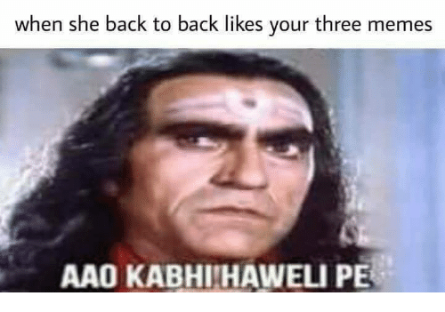 Funny Monkey Meme In Spanish : What is the meaning of aao kabhi haveli pe why is it funny quora