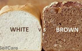 why is brown bread considered healthier than white bread quora