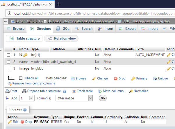 Which is the best way to store images in server using MySQL BLOB or