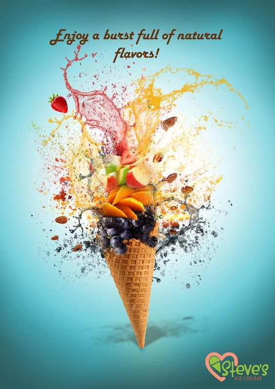 Ice creams contain e471 weather it is from pig fat or plant fat is why so many colors to make it attractive to kids ccuart Choice Image