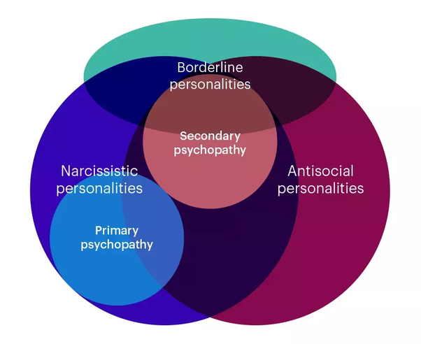 Are the personality disorders BPD, Narcissist, Sociopath
