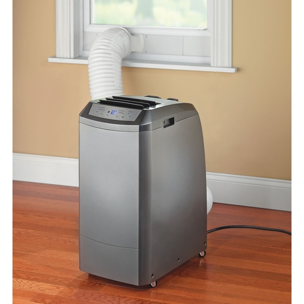 Can an attic be used to vent a portable air conditioner ...