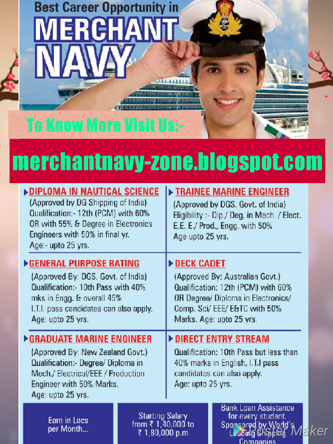 What is the salary of Indian seafarers in merchant navy
