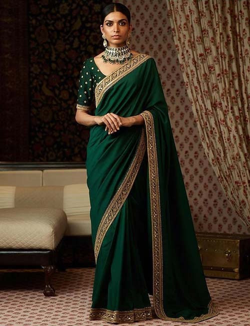 d375d40491c3c3 For gorgeous Silk sarees with interesting blouses, checkout Exclusive  Collection of Pure Kanchipuram Silk Sarees - Silken She .