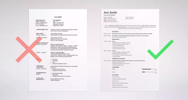 one page resume or two