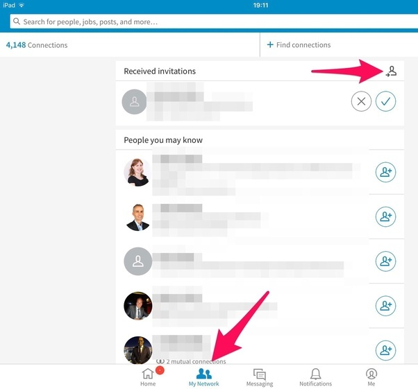 Is it possible to see to whom youve sent linkedin invitations ie you can follow me on linkedin for more insights and ideas and of course via twitter stopboris Images