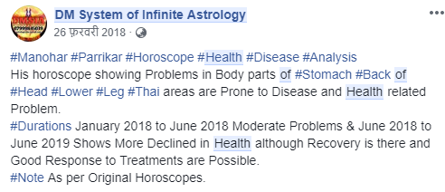 How can a person's health be predicted using a birth chart