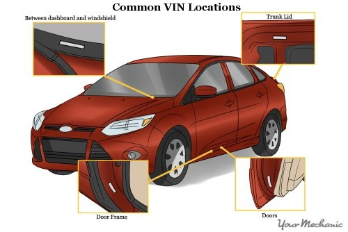 Where To Find Vin Number >> Where Can I Go To See If The Vin Number On My Car Fax Has Been