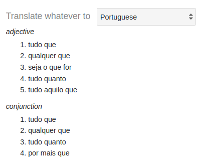 what does vai mean in portuguese