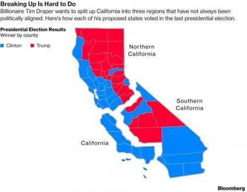 Map Of California Election Results.Top 10 Punto Medio Noticias Map Of California Counties That Voted