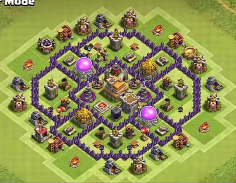 Which should be the best TH7 farming base for Clash of Clans? - Quora