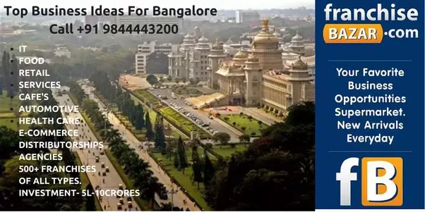 They Will Help You Choose The Best Business Which Could Start In Bangalore Based On Your Background And Resources Have At Disposal