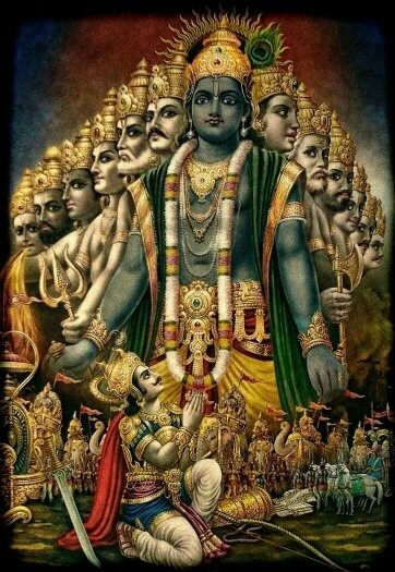 relationship between vishnu and krishna janmashtami