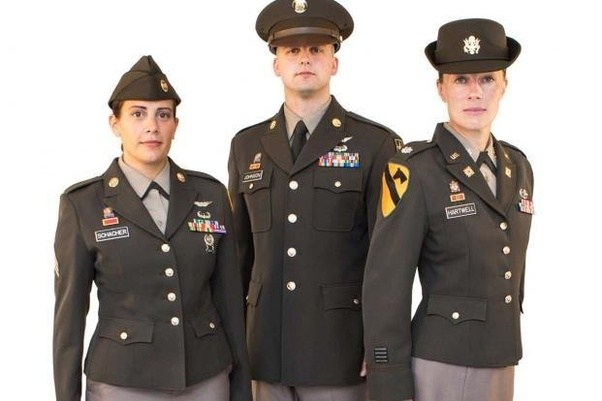 Is The U S Army Replacing Dress Blue Uniforms With Pink