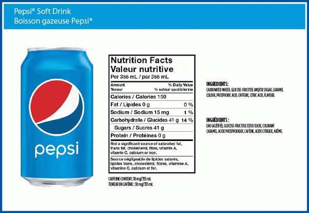 How Can Pepsi Have Fewer Calories Than Coke If Pepsi Uses More Sugar Quora