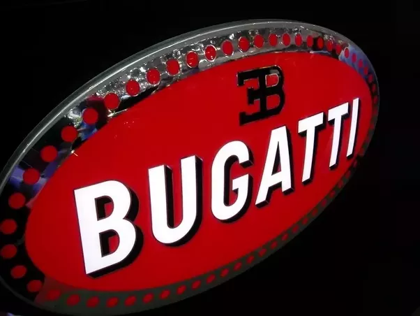 What is the bugatti logo quora the word bugatti carved of white letters with black shades lies on the red font in the middle of the logo voltagebd Image collections