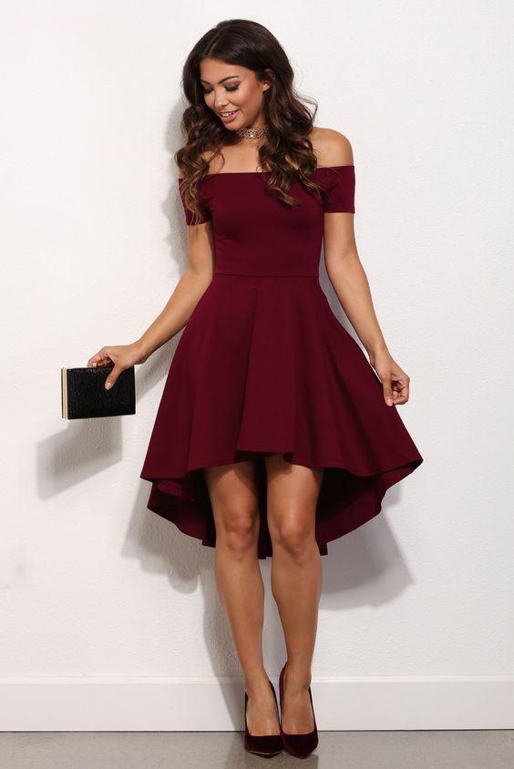Dark Brown Dress
