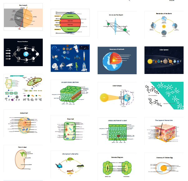 What are some of the free softwares to draw illustrative diagrams human organs biology astronomy geography etc the software also has various diagram design theme background color layout types etc for your work ccuart Images