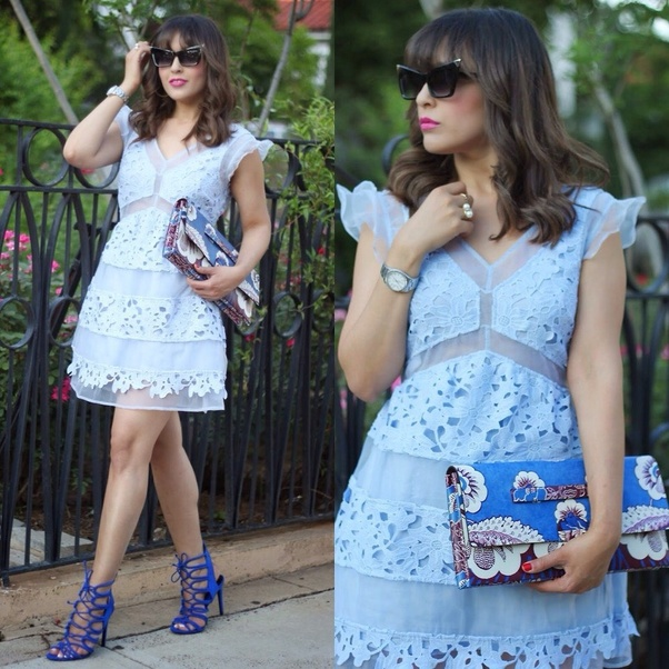 What Shoe Color Goes Best With A Blue Dress Quora