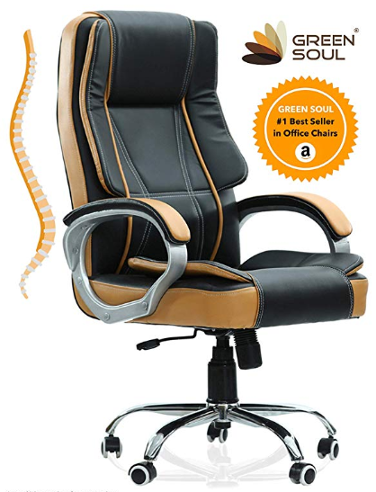 1 Green Soul Vienna Tall Premium Finish Executive Office Chair