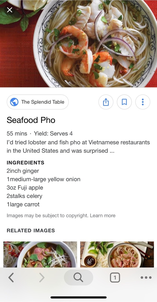 How can someone tell what is considered as authentic Vietnamese food