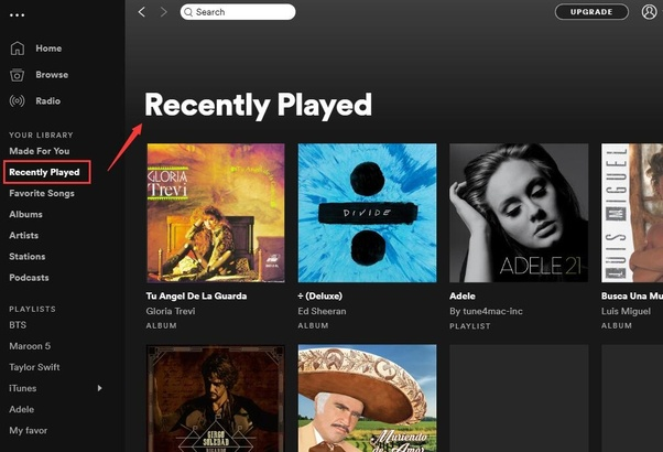 Is there a way to view your Spotify play history? - Quora