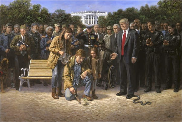 You are not forgotten by Jon McNaughton