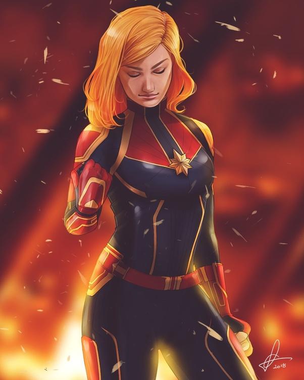 Why Captan Marvel/Carol Danvers and Supergirl/Kara Danvers