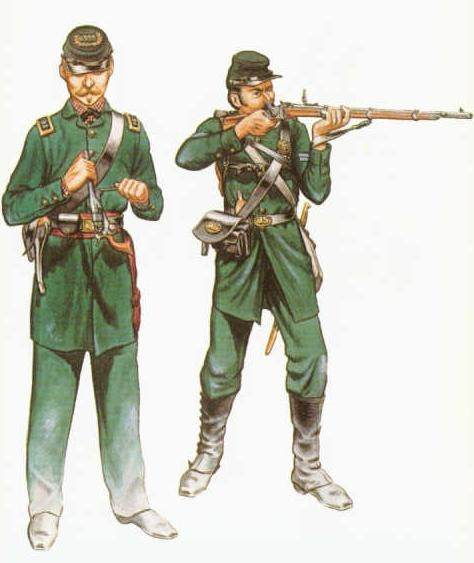 What type of special forces or elite units existed during the civil war (for both the Union and Confederacy)?