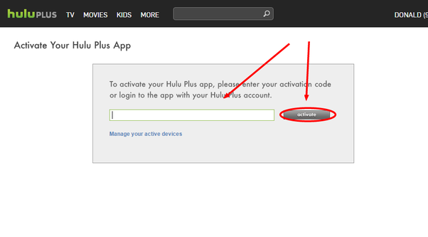 How does the Hulu device activation code work? - Quora