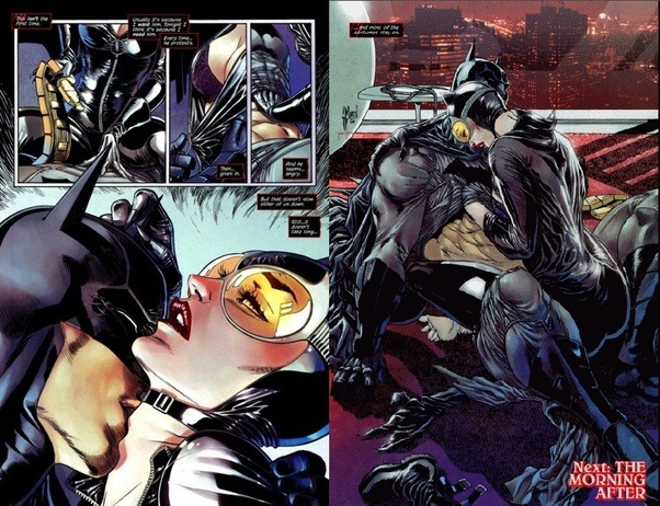 Does batman and catwoman hook up