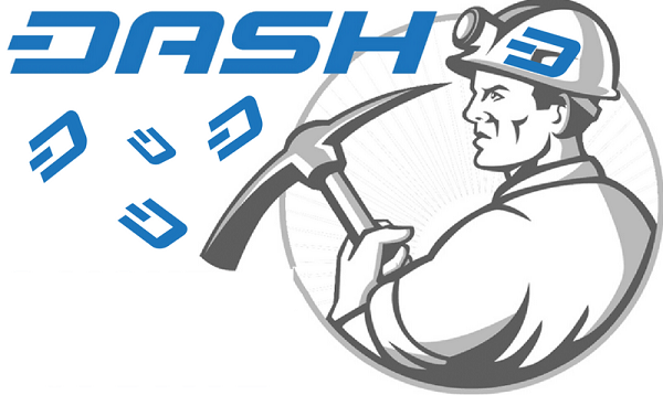 dash cryptocurrency miner