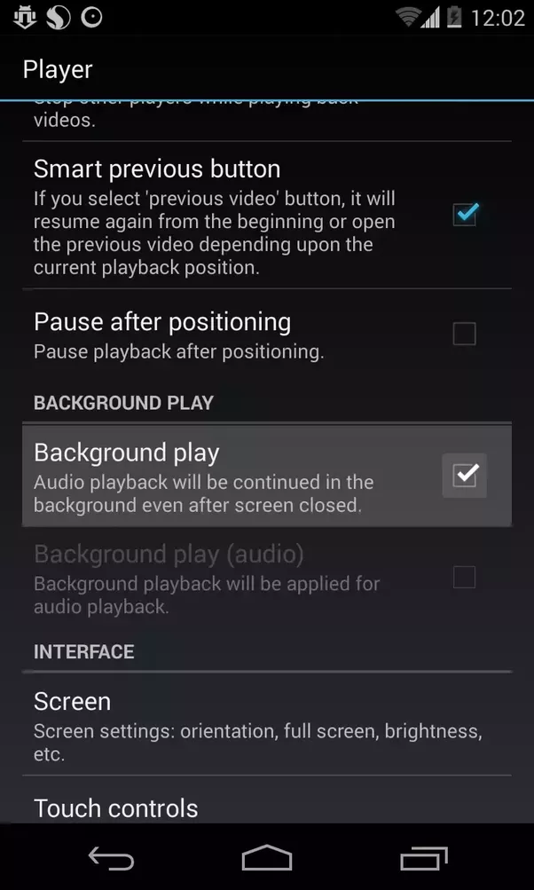 Is there an Android app that lets you play only the audio from a ...