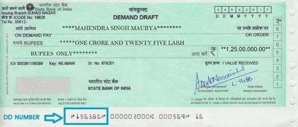 Hdfc Bank Demand Draft Form Pdf