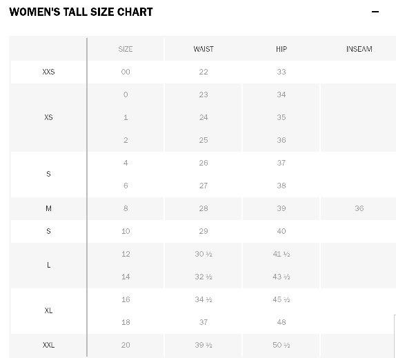 If I Fit A Size 38 32 In Men What Size Would I Be In Women Quora
