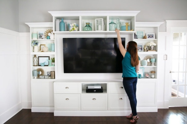 How To Decorate My Entertainment Center In My Living Room